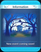 Haunted Halloween event coming soon!