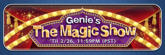 Genie's The Magic Show Banner.png