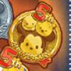 DisneyTsumTsum Pins 5th Anniversary Gold.png