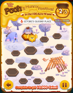 Pooh's Hunny Festival Card 6c