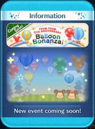 Balloon Bonanza! event coming soon!