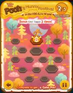 Pooh's Hunny Festival Bonus Card c