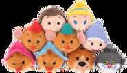 DisneyTsumTsum PlushSet Cinderella jpn 2016 Mini