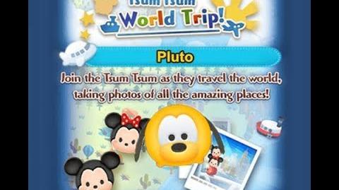 Disney Tsum Tsum - Pluto (Tsum Tsum World Trip - 1st Trip 9 - 3)
