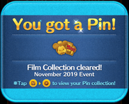 MA Film Collection cleared gold pin GET!.png