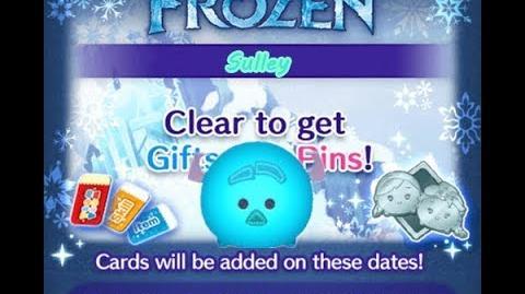 Disney Tsum Tsum - Sulley (Frozen Event - Card 9 - 8)