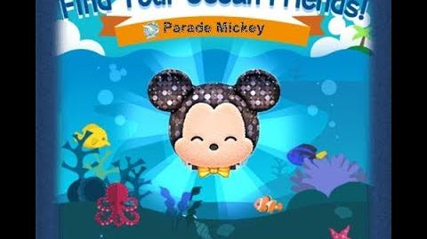Disney Tsum Tsum - Parade Mickey (Find Your Ocean Friends Event - Mission 59)