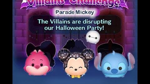 Disney Tsum Tsum - Parade Mickey (Disney Villains' Challenge - Jafar Map 13)