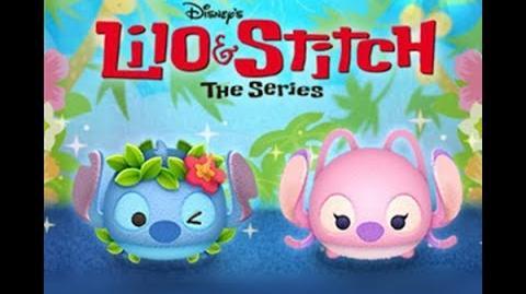 Disney Tsum Tsum - Hawaiian Stitch