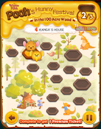 Pooh's Hunny Festival Card 4c