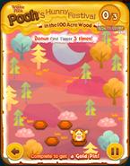 Pooh's Hunny Festival Bonus Card