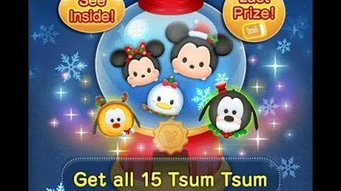 Disney Tsum Tsum - Holiday Pluto
