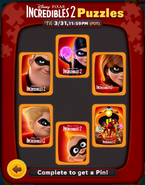 Incredibles 2 Puzzles All Cleared