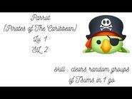 Line Disney Tsum Tsum - Parrot - Lv.1 - SL