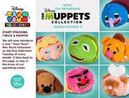 DisneyTsumTsum PlushSet Muppets 2016 Mini Banner