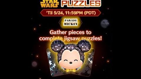Disney Tsum Tsum - Parade Mickey (Star Wars Puzzles Event)