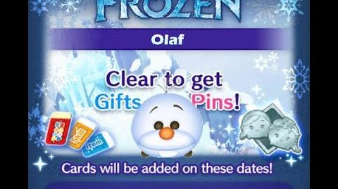 Disney Tsum Tsum - Olaf (Frozen Event - Card 2 - 10)