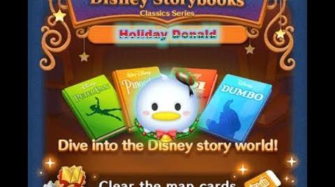 Disney Tsum Tsum - Holiday Donald (Disney Story Books - Pinocchio 18)