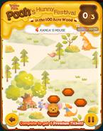 Pooh's Hunny Festival Card 4