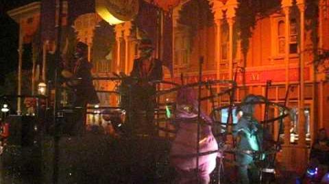 Mickeys Boo to You Halloween Parade October 8th 2009 Villians