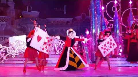 Spectacle c est bon d être vilain avec les Méchants Disney (soirée Halloween Disneyland Paris 2017