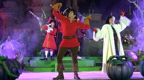 It's Good to be Bad with Disney Villains FULL Nighttime Show w Cruella, Gaston, Disneyland Paris