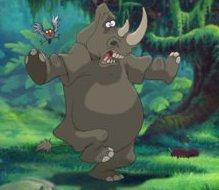The Rhinoceros and the Bird