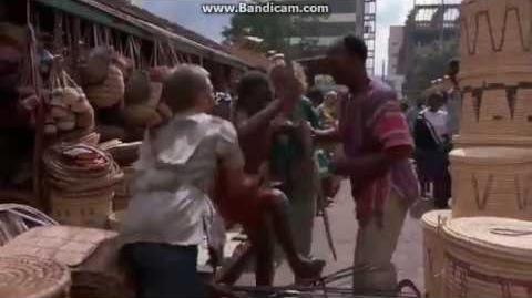 Cheetah- Market owner chase