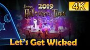 "*4K* 1st Day - FULL Show ""Let's Get Wicked"" 《惡人舞動迪士尼》 Hong Kong Disneyland (Sep 12, 2019)"