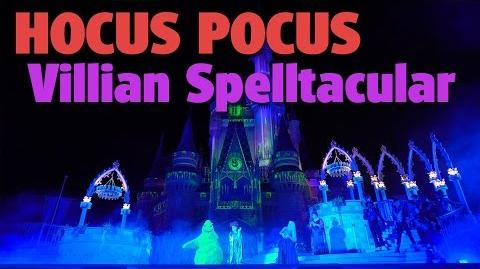 Hocus Pocus Villain Spelltacular 2016 Mickey's Not-So-Scary Halloween Party 2016