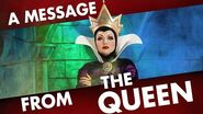 A Safety Message from THE QUEEN!