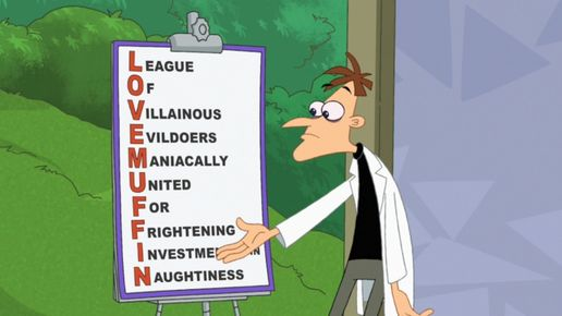 League Of Villainous Evildoers Maniacally United For Frightening Investments in Naughtiness