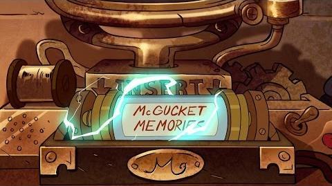 Gravity Falls - McGucket's Memories