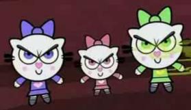 Cling Pow Kitties