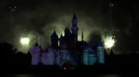HKDL Nightmare in the Sky Halloween pyrotechnics show 2010