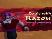Battle With Razoul