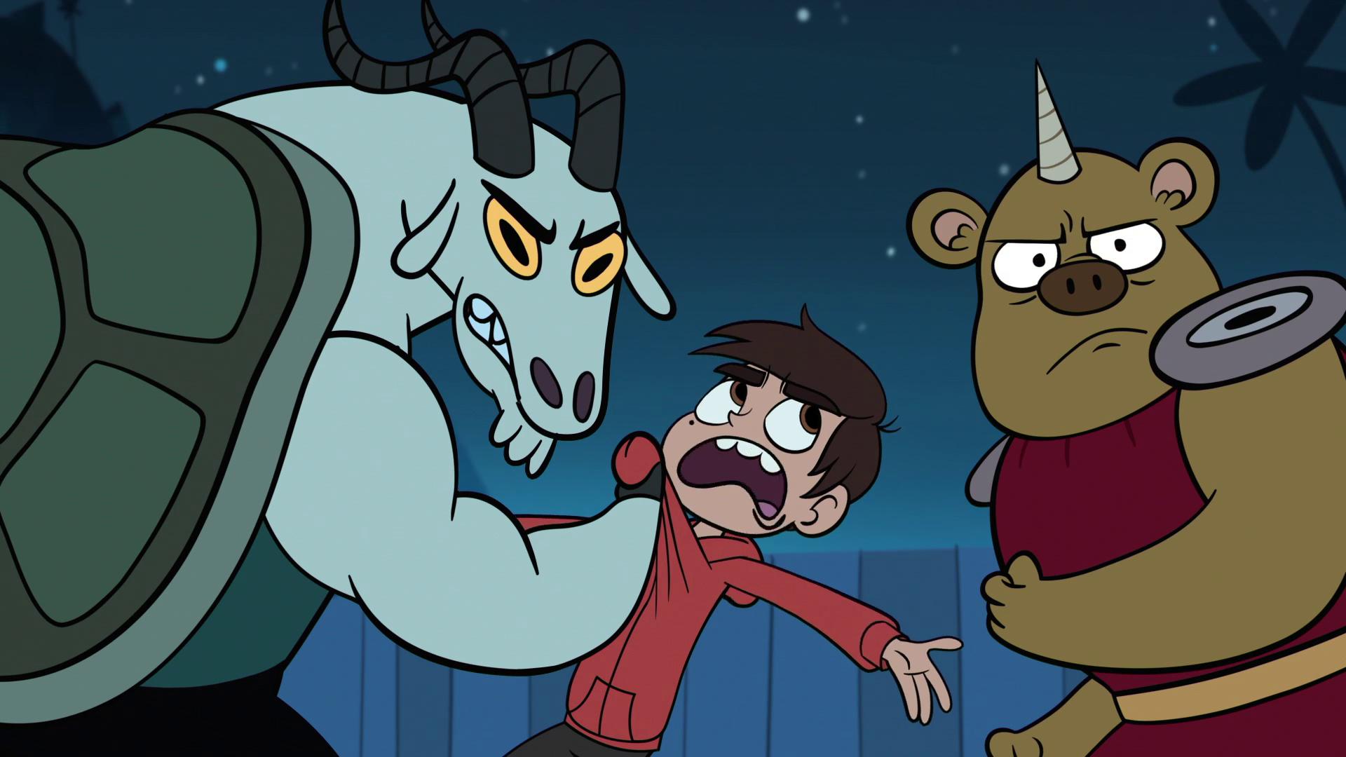 Goat monster