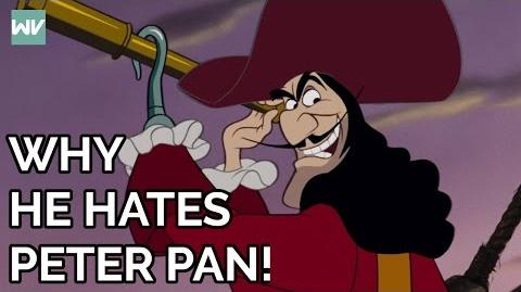 Captain Hook's FULL Story Why Hook Hates Peter Discovering Disney's Peter Pan