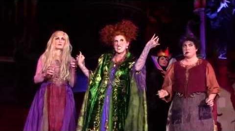 FULL Show Hocus Pocus Villain Spelltacular at Mickey's Not So Scary Halloween Party at Magic Kingdom