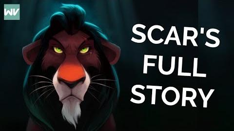 Scar BEFORE The Lion King (Full Story) How He Got His Scar And Name Discovering Disney