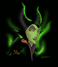 Maleficent by Katikut.jpg