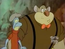 Arnold Mousenegger and Sugar Ray Lizard