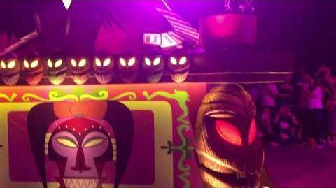 FULL 2017 Villain's Cavalcade at Shanghai Disneyland as halloween entertainment