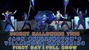 "【First Day丨4K】""Jack Skellington's Villainous Gathering""丨Hong Kong Disneyland丨 阿Jack 聯群作惡丨香港迪士尼樂園"