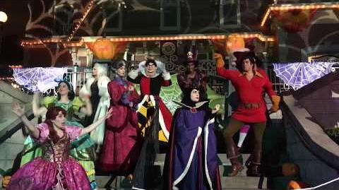 GOODNIGHT Villains! Mickey's Halloween Party Disneyland