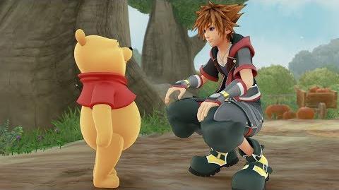 KINGDOM HEARTS III Winnie the Pooh Trailer