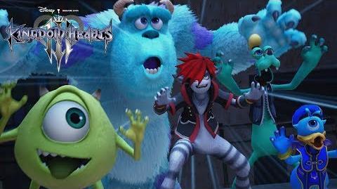 KINGDOM HEARTS III Monsters, Inc.
