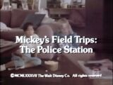 Mickey's Field Trips: The Police Station