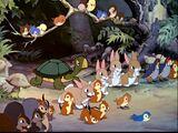 Forest Animals (Blancanieves)