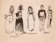 Snow white Boceto personajes.jpg